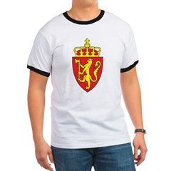 Norway Coat Of Arms Ringer T