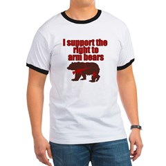 Right to arm bears Ringer T