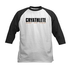 """Cryathlete"" Infant Creeper Kids Baseball Jersey"