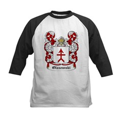 Olszewski Coat of Arms Infant Creeper Kids Baseball Jersey