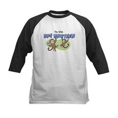 Big Brother (Monkey) Kids Baseball Jersey