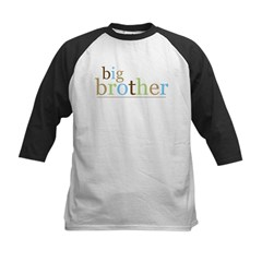 Big Bro (fun) Kids Baseball Jersey