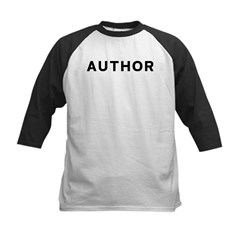 Author Kids Baseball Jersey