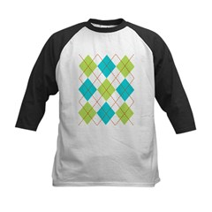Argyle T-shirt Kids Baseball Jersey
