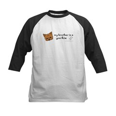yorkie gifts Kids Baseball Jersey
