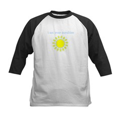 I Am Your Sunshine Kids Baseball Jersey