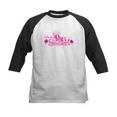 I'm The Big Sister Kids Baseball Jersey