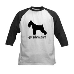 Got Schnauzer? Kids Baseball Jersey