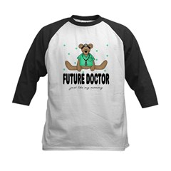 Future Doctor Like Mommy Baby Kids Baseball Jersey