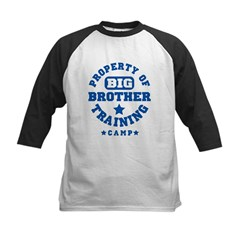 Property of Big Brother Train Kids Baseball Jersey