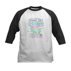 Occupation Flower Girl Lilac Kids Baseball Jersey