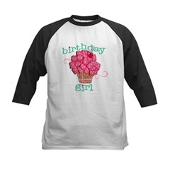 Birthday Girl Kids Baseball Jersey