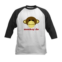 Monkey See, Monkey Do Kids Baseball Jersey