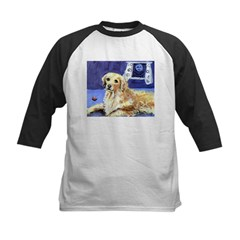GOLDEN RETRIEVER senses moon Infant Creeper Kids Baseball Jersey