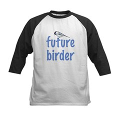 future birder Kids Baseball Jersey