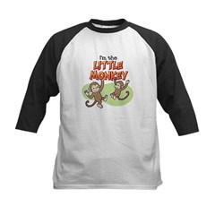 Little Monkey Kids Baseball Jersey