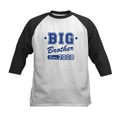 Big Brother Since 2008 Kids Baseball Jersey