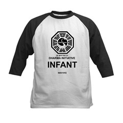 Dharma Initiative Kids Baseball Jersey