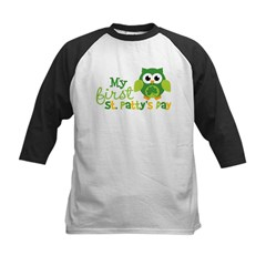 My 1st St. Patrick's Day Ow Kids Baseball Jersey