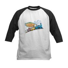 Little Engine That Could Kids Baseball Jersey
