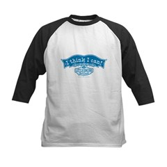 I Think I Can Arch Vintage Kids Baseball Jersey