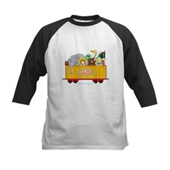 Freight Car Kids Baseball Jersey