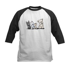 Terrier Time Kids Baseball Jersey