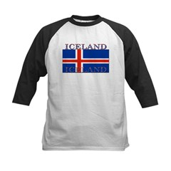 Iceland Infant Creeper Kids Baseball Jersey