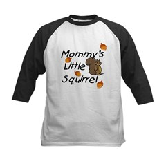 Mommy's Little Squirrel Infant Creeper Kids Baseball Jersey