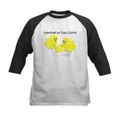 Two Chicks Kids Baseball Jersey