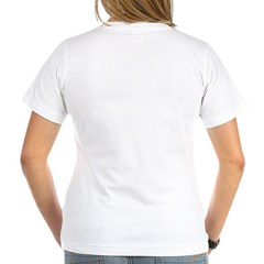 """Catcher/Catch This"" Women's V-Neck T-Shirt"