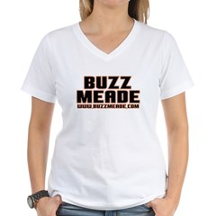 Buzz Meade Women's V-Neck T-Shirt