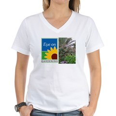 Eye on Gardening Tropical Plants Women's V-Neck T-Shirt