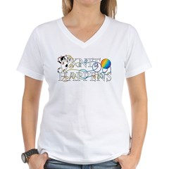 Knit Happens Women's V-Neck T-Shirt