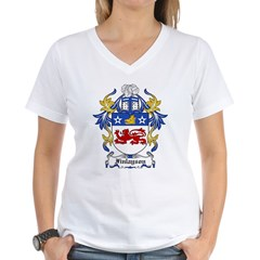 Finlayson Coat of Arms Women's V-Neck T-Shirt