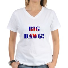 Big Dawg! Women's V-Neck T-Shirt