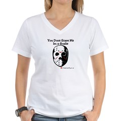 Goalie Women's V-Neck T-Shirt