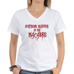 Supreme Master of the Macabre Women's V-Neck T-Shirt