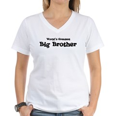 World's Greatest: Big Brother Women's V-Neck T-Shirt