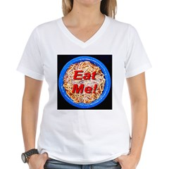 Eat Me! Women's V-Neck T-Shirt