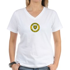 donegal ladies Women's V-Neck T-Shirt