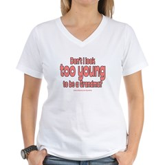 Too Young Women's V-Neck T-Shirt