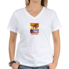 Espana Women's V-Neck T-Shirt