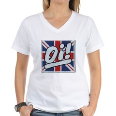 Oi Women's V-Neck T-Shirt