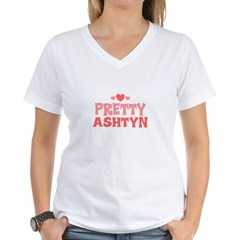 Ashtyn Women's V-Neck T-Shirt
