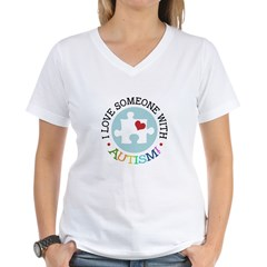 Autism Puzzle - Women's V-Neck T-Shirt