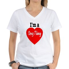 sexything Women's V-Neck T-Shirt