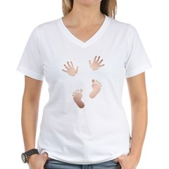 Maternity - Most Popular Women's V-Neck T-Shirt