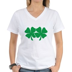 Touch My Lucky Charms Women's V-Neck T-Shirt