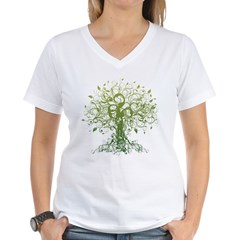 Yoga Women's V-Neck T-Shirt